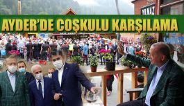 Cumhurbaşkanı Sayın Recep Tayyip Erdoğan, Ayder Yaylası'nda İncelemelerde Bulundu