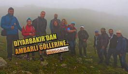 Diyarbakır'dan, AMBARLI Yaylasına Kamplı Yolculuk.