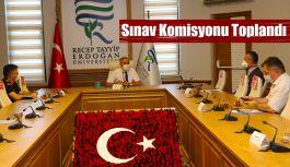 İl Sınav Koordinasyon Kurulu Toplantısı Yapıldı