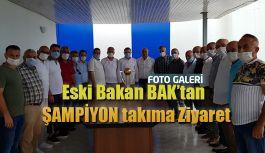 Osman Aşkın Bak 'tan Pazarspor'a Ziyaret