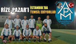 Pazar'ı İstanbul'da temsil ediyorlar