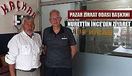 Ziraat Odası Başkanından Kaçkar53.com'a Ziyaret