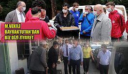 CHP Artvin Milletvekili Bayraktutan'dan bir dizi ziyaret