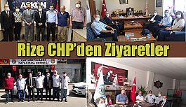CHP il Örgütü Ziyaretlerine Rize'de Devam Etti