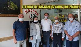 İl Başkanı Özyanık' tan Kaçkar 53.com Bürosuna Ziyaret
