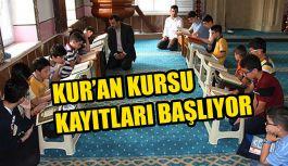 Kur'an Kurslarına Kayıtlar 7 Eylül'de Başlıyor