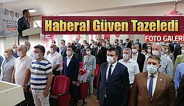 MHP Pazar İlçe Başkanı Haberal güven tazeledi