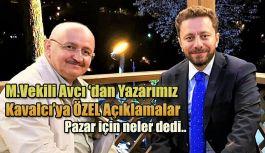 M.VEKİLİ AVCI;  TEK GAYEMİZ RİZE'YE HİZMET DEVAMINDA HALKIMIZIN DUASINI ALMAKTIR