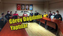 Pazar AK Parti Gençlik Kollarında Görev Dağılımı yapıldı