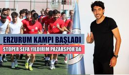 Pazarspor: dış transferde Sefa Yıldırım ile 2 yıllık sözleşme imzaladı