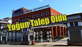 Recep Tayyip Erdoğan Üniversitesi (RTEÜ)nin lisansüstü programlarına yoğun talep oldu.