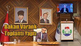Bakan Varank Konferans yöntemi ile toplantı gerçekleştirdi