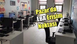 Gençlik Merkezi'nde EBA erişim noktası oluşturuldu