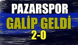Pazarspor 2-0 Galip Geldi