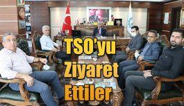RİPORT VE HOPAPORT'TAN TSO'YA ZİYARET