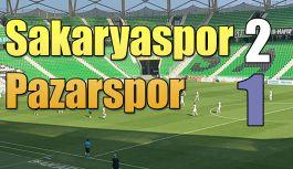 SAKARYASPOR 2-PAZARSPOR-1
