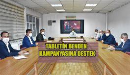 TABLETİN BENDEN KAMPANYASINA DESTEK