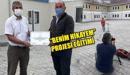 """TÜRKİYE HABER KAMERAMANLARI DERNEĞİ'NDEN """"BENİM HİKAYEM"""" PROJESİ"""