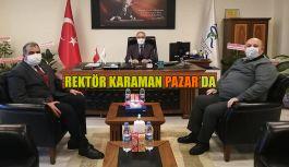 RTEÜ Rektörü Karaman: Pazar'da