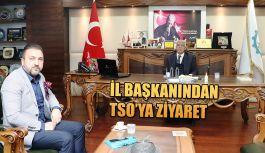 TALİP SÜCÜ'DEN HOPA TSO'YA ZİYARET