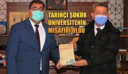 Tarihçi Rıdvan Şükür, Gebze Teknik Üniversitesinin misafiri oldu
