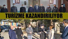 TARİHİ ADAKALE MAHALLESİ TURİZME KAZANDIRILIYOR