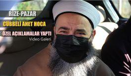 Cübbeli Ahmet Hoca Hocası Resul Bölükbaş'ı Son Yolculuğuna uğurladı