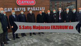 Erzurum'da Açıldı