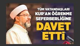 HAYDİ TÜRKİYE, EVDE KUR'AN ÖĞRENMEYE PROJESİ RİZE'DE BAŞLADI