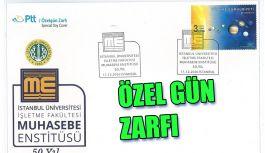 PTT'DEN ÖZELGÜN ZARFI