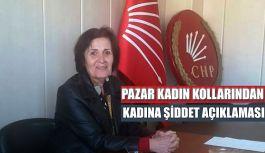 Turan: Kadına Şiddet konusunda basın açıklaması yaptı.