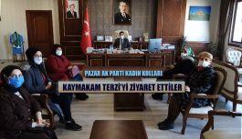 AK Parti Kadın Kollarından Kaymakam Terzi'ye Ziyaret