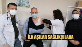COVİD-19 AŞILAMA HİZMETİ BAŞLADİ.
