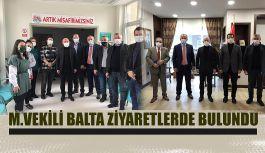 MİLLETVEKİLİ ERKAN BALTA HOPA'DA