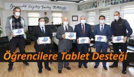 ÖĞRENCİLERE TABLET DESTEĞİ...