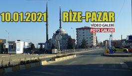 RİZE-PAZAR - Cadde ve sokaklarda sessizlik sürüyor