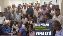 Rize Pazarlı Tarihçi Yazar Yavuz Bahadıroğlu vefat etti