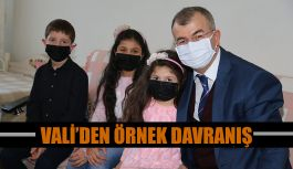 VALİSİ DORUK'TAN AİLE ZİYARETİ