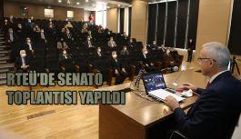 YÖK Başkanının Katıldığı Çevrim İçi Senato Toplantısı Yapıldı