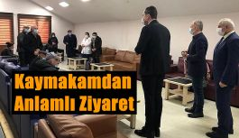ÖZAYDIN'DAN ANLAMLI ZİYARET