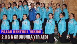 Pazar Hentbol Takımı 2.Lig A grubunda yer aldı.