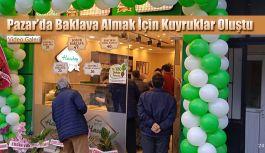 Urfalı Hacıbey Baklavaları Pazar Şubesi açıldı.