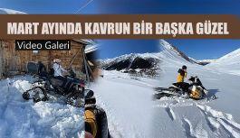 Mart ayında 2 metre Karda KAVRUN'a çıktılar