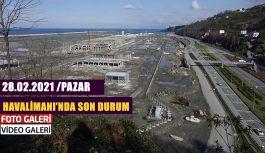 Rize-Artvin Havalimanı'nda son durum