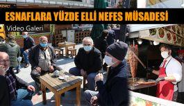 Rize'de Çay Ocakları, Kafe ve Lokantalar yüzde 50 kapasite ile iş yerlerini açtı