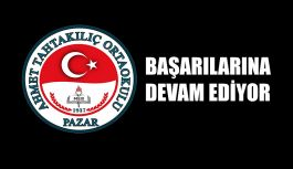 Ahmet Tahtakılıç Ortaokulu Fikir Atölyesi projesinde