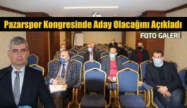 """Av. İhsan Şafak Balta;  """"Pazarspor'u Profesyonel Yönetecek kadro ile yola çıkacağım"""""""