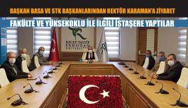 Başkan Basa ve STK'lardan RTEÜ'ye bir dizi ziyaret