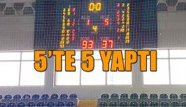 Basketbol Takımı Namağlup Liderliğini devam Ettirdi