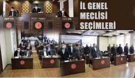 İl Genel Meclisi'nde 2021-2023 Dönemi Seçimleri Gerçekleştirildi